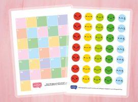 Kalendarz motywacyjny dziecka