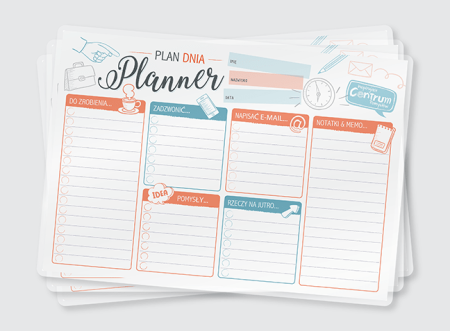 "Planner ""Plan dnia"""
