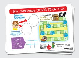 """Gra planszowa """"Skarb Piratów"""""""