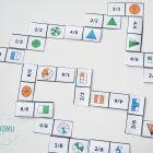 Nauka ułamków - karty pracy