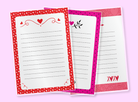 Walentynkowy notes